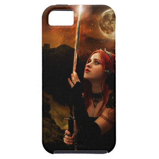 Coques iPhone 5 Guerrier de lune