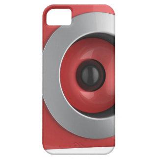 Coques iPhone 5 Haut-parleur rouge