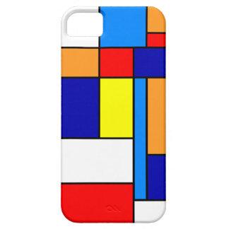 Coques iPhone 5 Mondrian #8