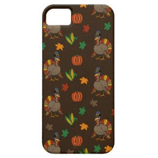Coques iPhone 5 Motif de la Turquie de thanksgiving
