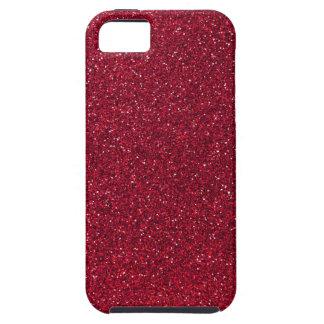Coques iPhone 5 Parties scintillantes rouges