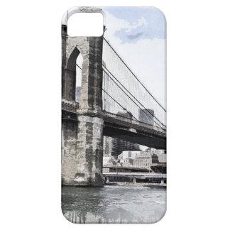 Coques iPhone 5 Paysage urbain Etats-Unis de ville d'horizon