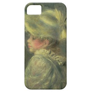Coques iPhone 5 Pierre un Renoir | le casquette blanc