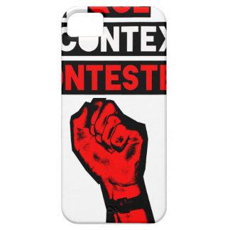 Coques iPhone 5 Quelque soit le CONTEXTE CONTESTE ! - Jeux de Mots