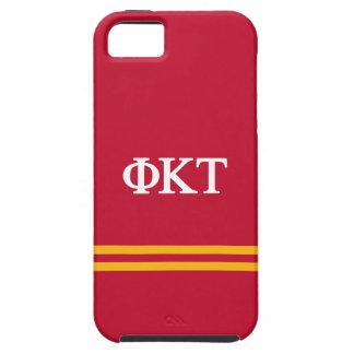 Coques iPhone 5 Rayure de sport de Tau | de Kappa de phi