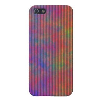 Coques iPhone 5 Rayures psychédéliques - résumé rayé coloré