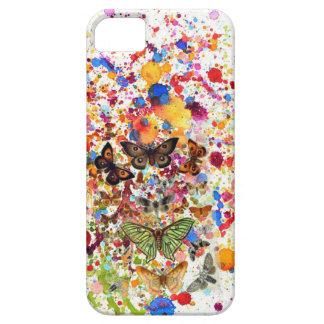 Coques iPhone 5 Se d'iPhone d'ART de papillons+ 5/5S, à peine là