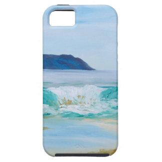 Coques iPhone 5 Vague de rupture par KatGibsonArt - aimez la plage