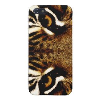 Coques iPhone 5 Yeux d'un tigre