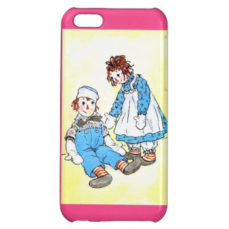 Coques iPhone 5C Cas de l'iPhone 5 d'illustration Raggedy d'Andy et