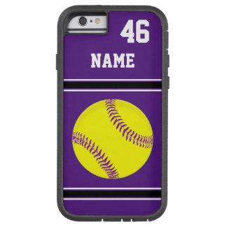 Coques iphone du base-ball personnalisés par