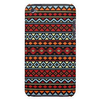 Coques iPod Case-Mate Noir bleu rouge aztèque de jaune orange de