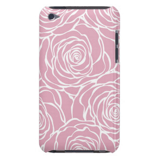 Coques iPod Case-Mate Pivoines, floral, blanches, rose, motif, girly,