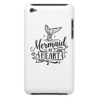 Coques iPod Touch Cas de téléphone - sirène au coeur