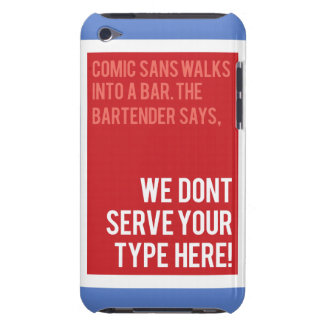 Coques iPod Touch Le barman dit