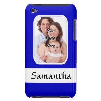 Coques iPod Touch Photo faite sur commande bleue et blanche