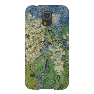 Coques Pour Galaxy S5 Branches se développantes de châtaigne de Vincent