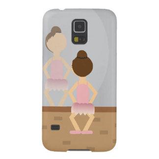 Coques Pour Galaxy S5 Cas de téléphone de ballerine de danse (mis lui
