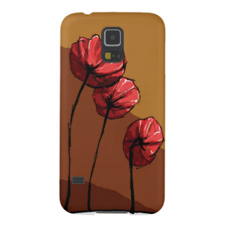 Coques Pour Galaxy S5 coquelicot