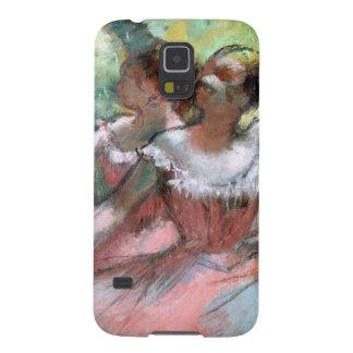 Coques Pour Galaxy S5 Edgar Degas   quatre ballerines sur l'étape