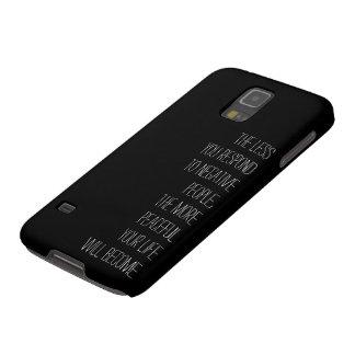 Coques Pour Galaxy S5 Moins vous répondez aux personnes négatives