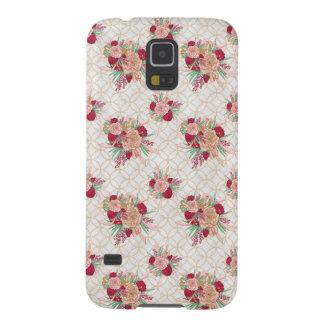 Coques Pour Galaxy S5 Motif de fleurs