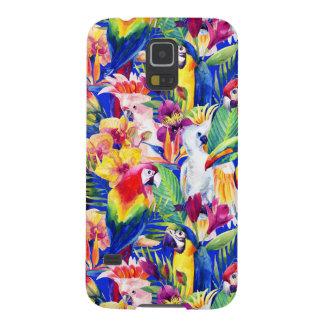 Coques Pour Galaxy S5 Perroquets d'aquarelle