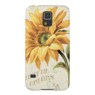 Coques Pour Galaxy S5 Un tournesol en pleine floraison