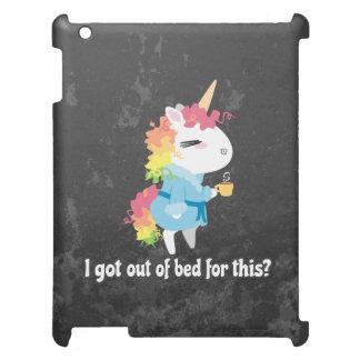 Coques Pour iPad Je suis sorti du lit pour ceci ? Snarkles la