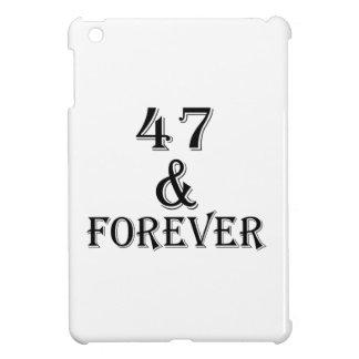 Coques Pour iPad Mini 47 et pour toujours conceptions d'anniversaire