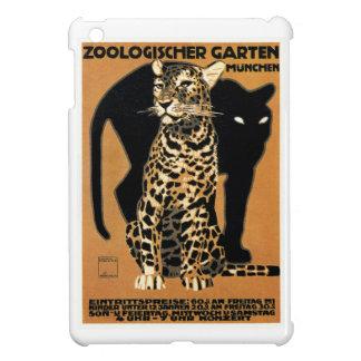 Coques Pour iPad Mini Affiche 1912 de zoo de Munich de léopard de Ludwig
