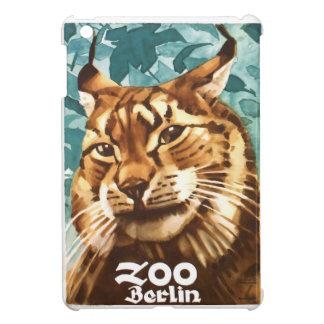 Coques Pour iPad Mini Affiche 1930 de Lynx de zoo de Ludwig Hohlwein