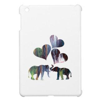 Coques Pour iPad Mini art d'éléphants