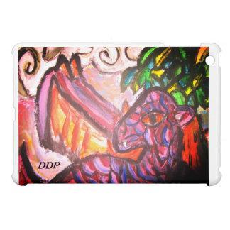 Coques Pour iPad Mini Art pourpre de dragon