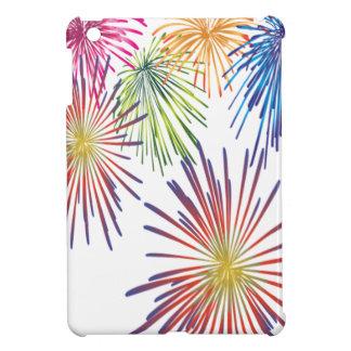 Coques Pour iPad Mini Beau moderne coloré d'amusement de feu d'artifice