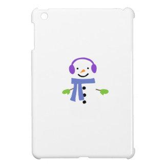 COQUES POUR iPad MINI BONHOMME DE NEIGE MIGNON