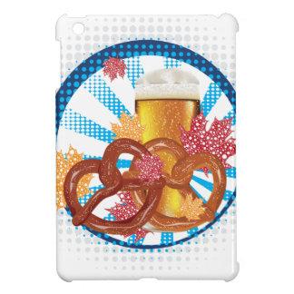 Coques Pour iPad Mini Bretzel de bande dessinée avec de la bière