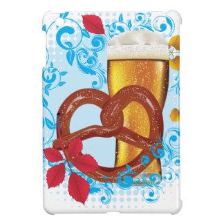 Coques Pour iPad Mini Bretzel de bande dessinée avec de la bière 3