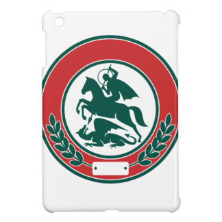 Coques Pour iPad Mini Cercle de dragon de meurtre de St George rétro