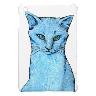 Coques Pour iPad Mini Chat bleu