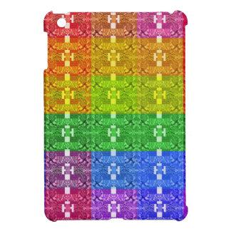 Coques Pour iPad Mini Copie géométrique de motif d'arc-en-ciel