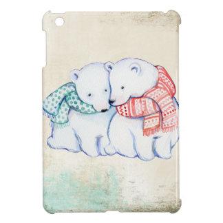 Coques Pour iPad Mini Couples d'ours blancs