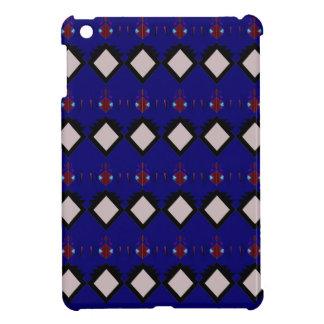 Coques Pour iPad Mini Éléments bleus de gens d'ethno