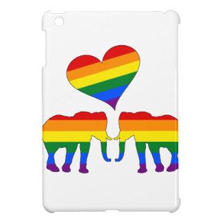 Coques Pour iPad Mini Éléphants d'arc-en-ciel