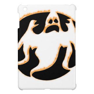 Coques Pour iPad Mini fantôme sur le feu