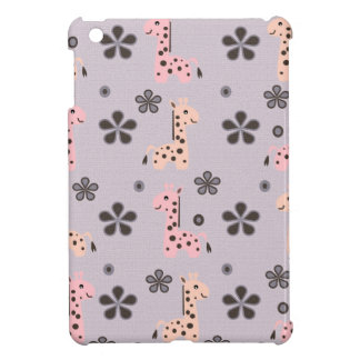 Coques Pour iPad Mini FILLE GIRRAFE Playland