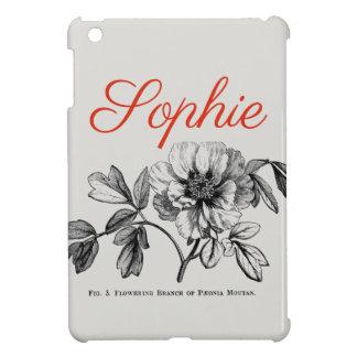 Coques Pour iPad Mini Fleur vintage/victorienne gravant Personnalised