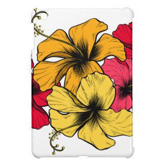 Coques Pour iPad Mini Fleurs de ketmie
