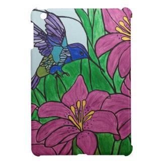 Coques Pour iPad Mini Fleurs d'oiseau de ronflement
