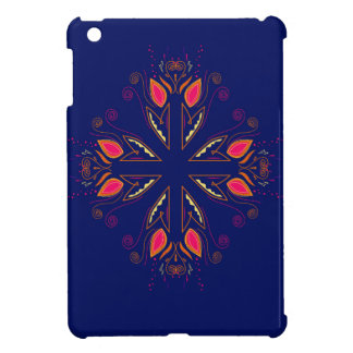 Coques Pour iPad Mini GENS de bleu d'éléments de conception